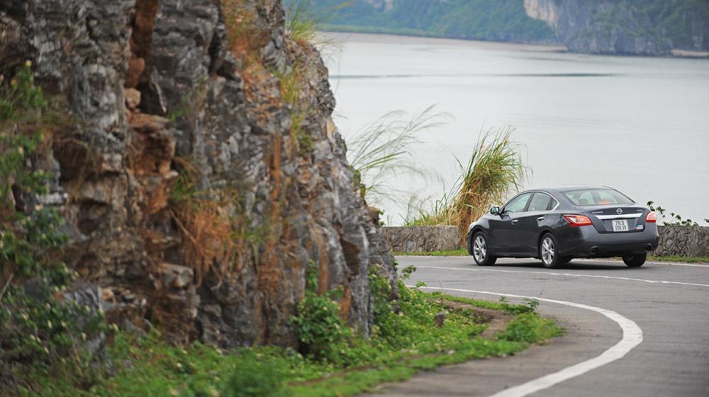 Cùng Nissan Teana 2.5SL đi tìm gió biển chớm đông - 2