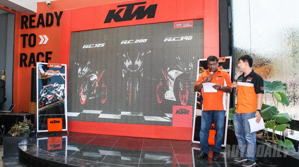 Ra mắt KTM RC200 và RC390 tại Việt Nam - 3