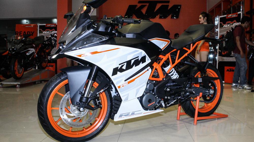 Ra mắt KTM RC200 và RC390 tại Việt Nam - 4