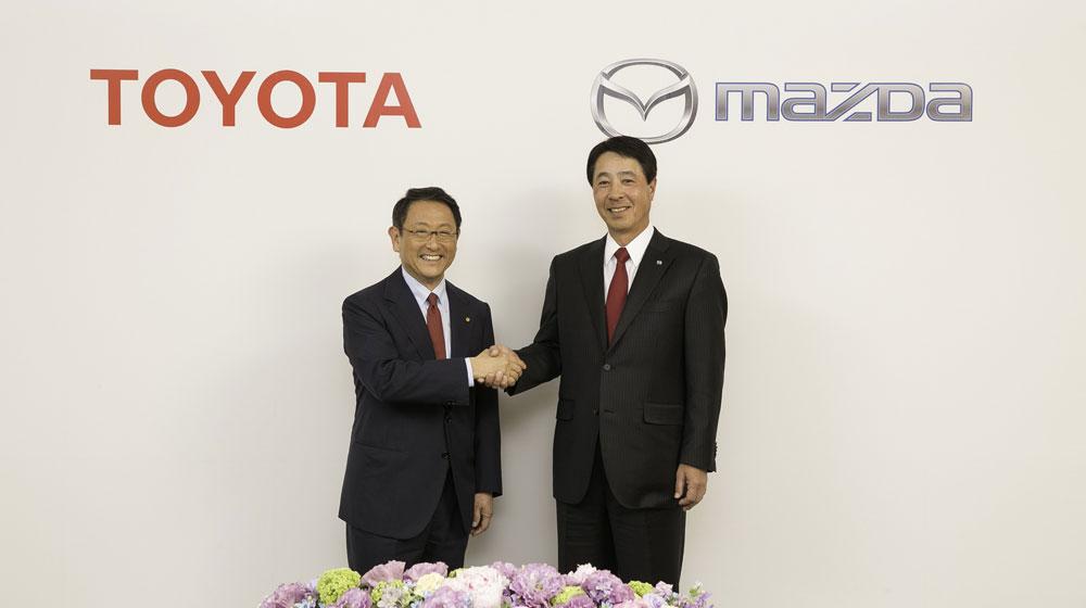 Toyota Cần Thơ: Toyota và Mazda chia sẻ công nghệ động cơ