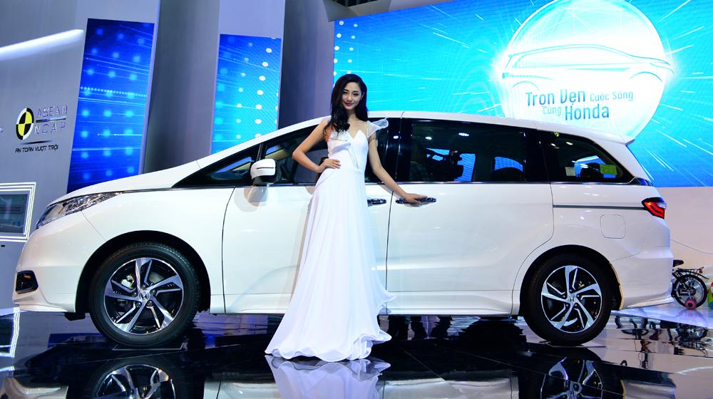 Odyssey 2016 Xe đa dụng 7 chỗ Honda Odyssey đã có mặt tại đại lý Honda 20odyssey