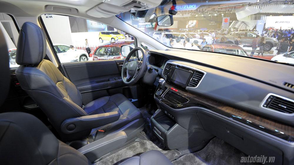 Odyssey 2016 Xe đa dụng 7 chỗ Honda Odyssey đã có mặt tại đại lý honda odyssey vms 2015 20 11
