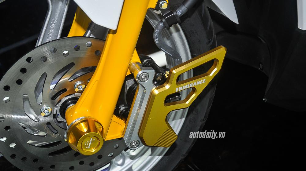 Chi tiết Honda Air Blade độ đẹp với bộ phụ kiện Endurance Racing  6