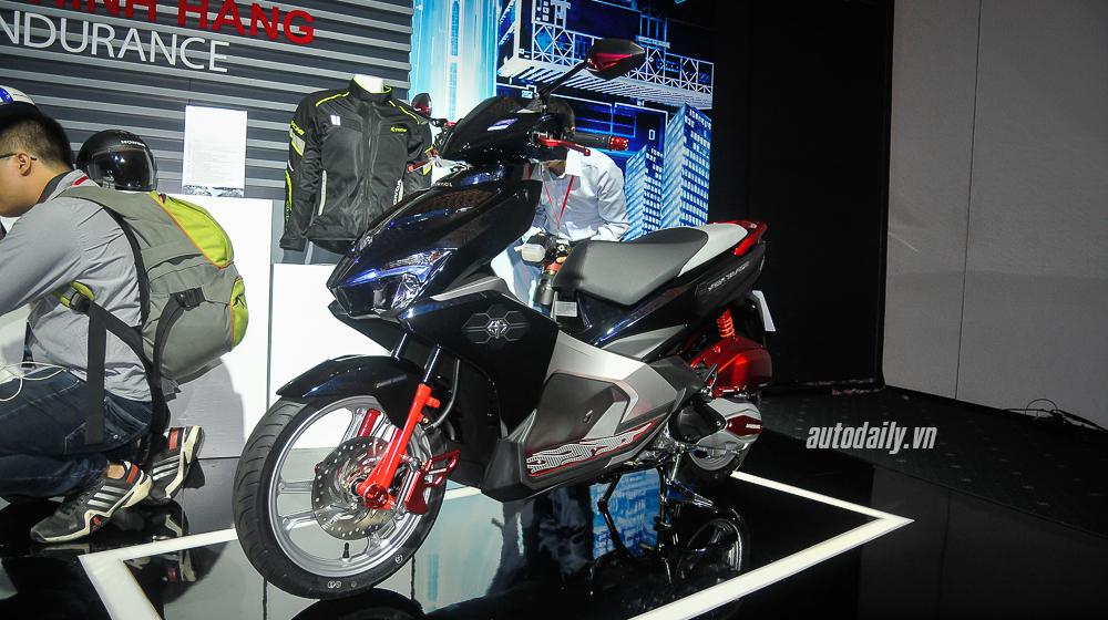 Chi tiết Honda Air Blade độ đẹp với bộ phụ kiện Endurance Racing  16