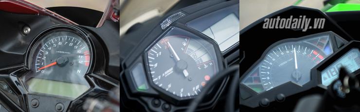 Nên chọn mua Honda CBR300R, Yamaha R3 hay Kawasaki Ninja 300 với giá 200 triệu? 8