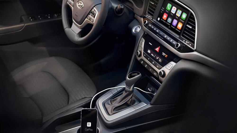 Hyundai Elantra 2017 Hyundai Elantra 2017 được trang bị Apple CarPlay và Android Auto 2017 Hyundai Elantra with Apple CarPlay