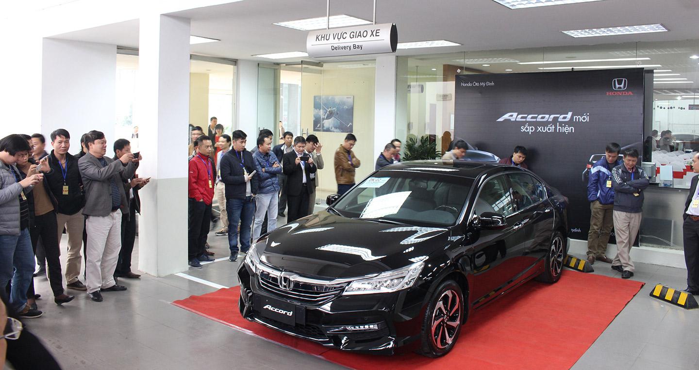 Honda Accord 2016 về Việt Nam có gì mới?