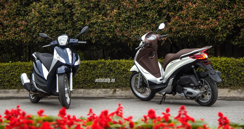 Đánh giá Piaggio Medley 125 ABS: Đối thủ xứng tầm của Honda SH 125i - 1