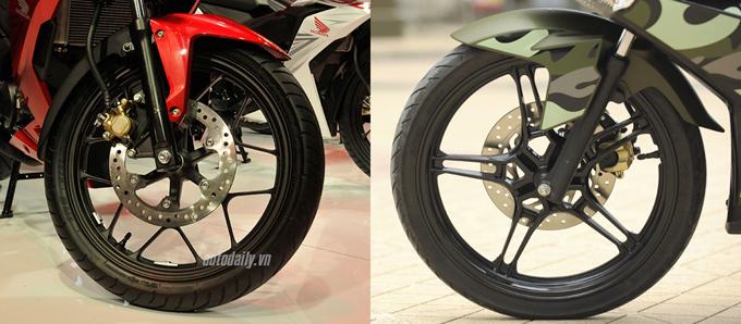 So sánh chi tiết Exciter 150cc vs Winner 150cc về hình ảnh, thiết kế và giá bán 5
