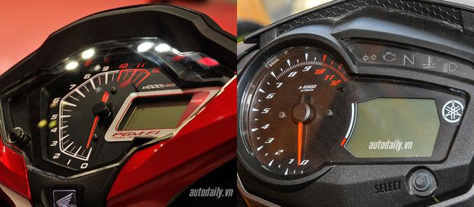 So sánh chi tiết Exciter 150cc vs Winner 150cc về hình ảnh, thiết kế và giá bán 4