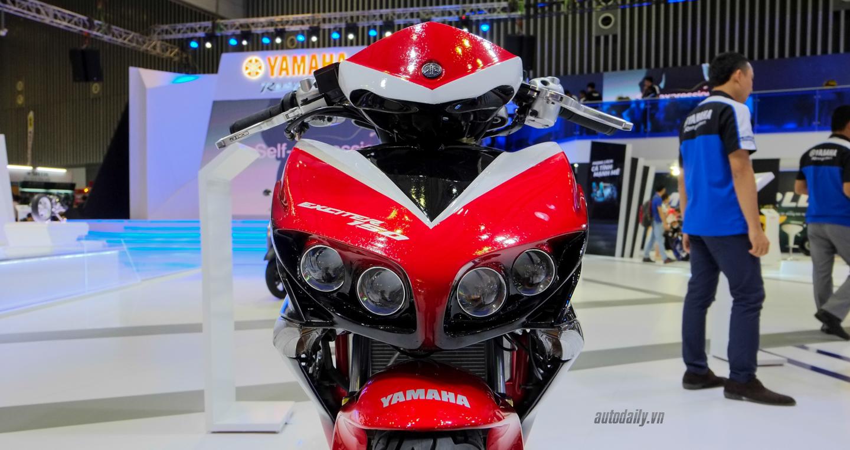 Hãng Yamaha trình làng Exciter độ với đồ chơi hiệu cùng tông màu đỏ/đen 6