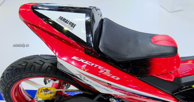 Hãng Yamaha trình làng Exciter độ với đồ chơi hiệu cùng tông màu đỏ/đen 18
