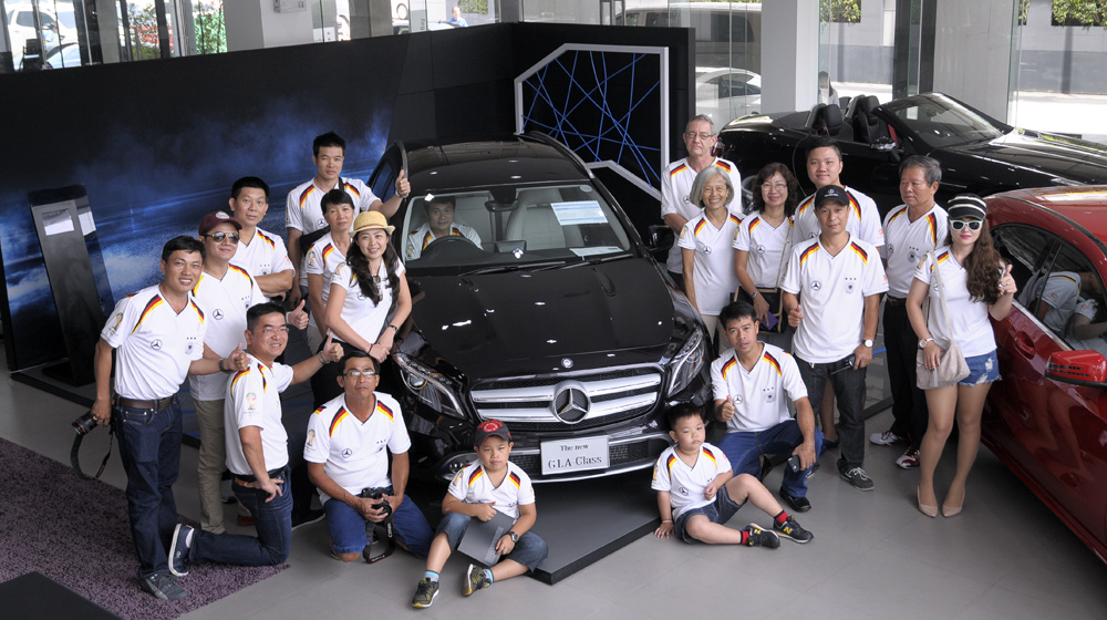 MBFC Caravan, ngày 7: Đến thăm Đại lý Mercedes-Benz Star Flag tại Bangkok - 1